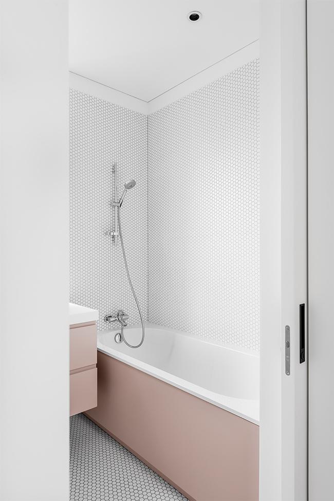 Balta estetika - privataus interjero projektas - 2