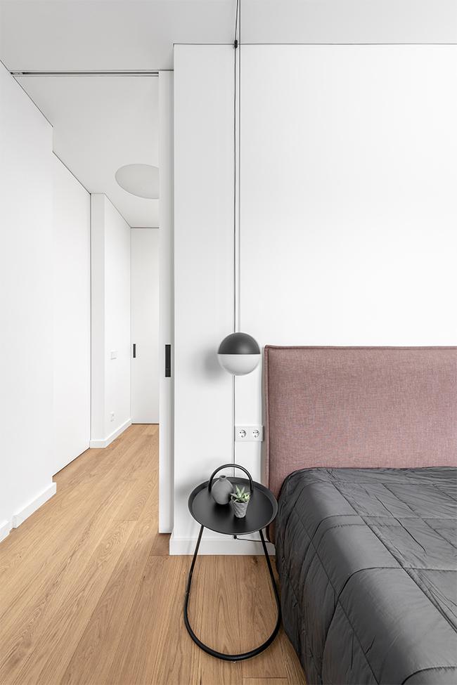 Balta estetika - privataus interjero projektas - 4