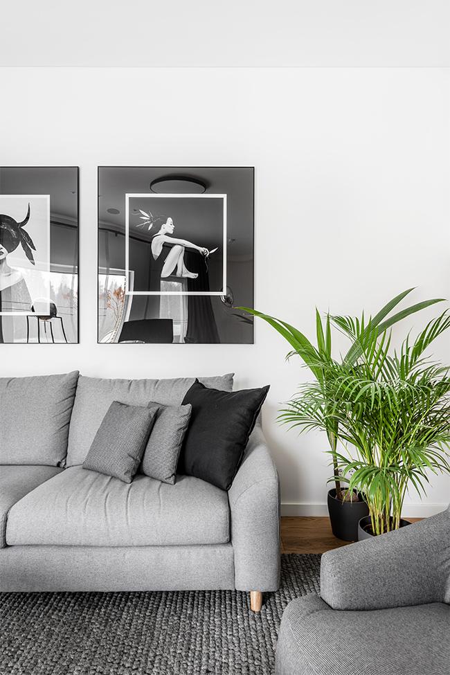 Balta estetika - privataus interjero projektas - 8
