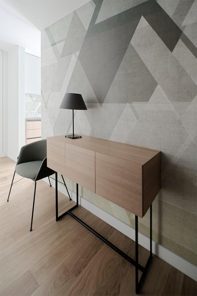 Jaunatviškas minimalizmas - privataus interjero projektas - 8