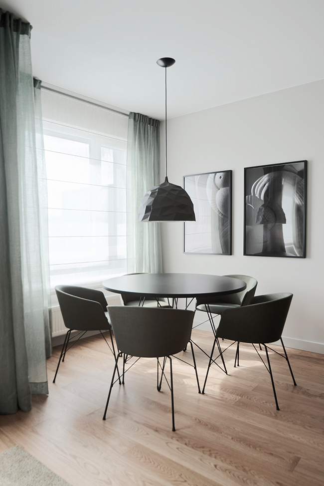 Jaunatviškas minimalizmas - privataus interjero projektas - 9