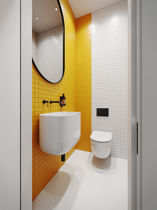 Lankstus dekoratyvumas - privataus interjero projektas - 12
