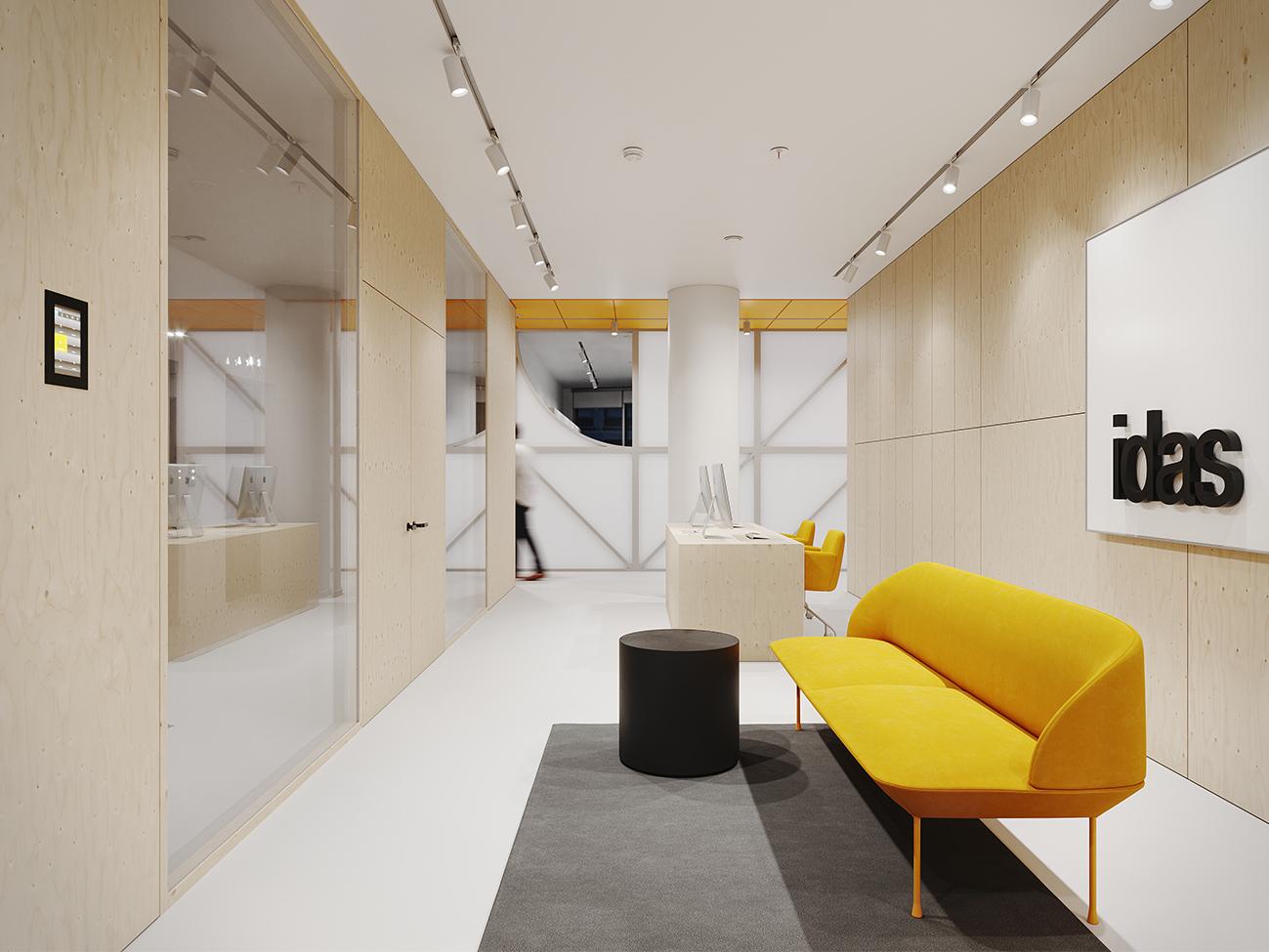 Lankstus dekoratyvumas - privataus interjero projektas - 2